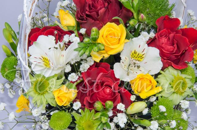 Как подарить красиво цветы девушке