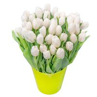 Bouquet of tulips Breath of Tenderness - view more