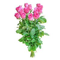 Bouquet of pink roses Rose Surprise - view more