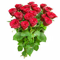 Bouquet of red roses Desired Date - view more