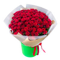 Bouquet of red roses Strong Feelings
