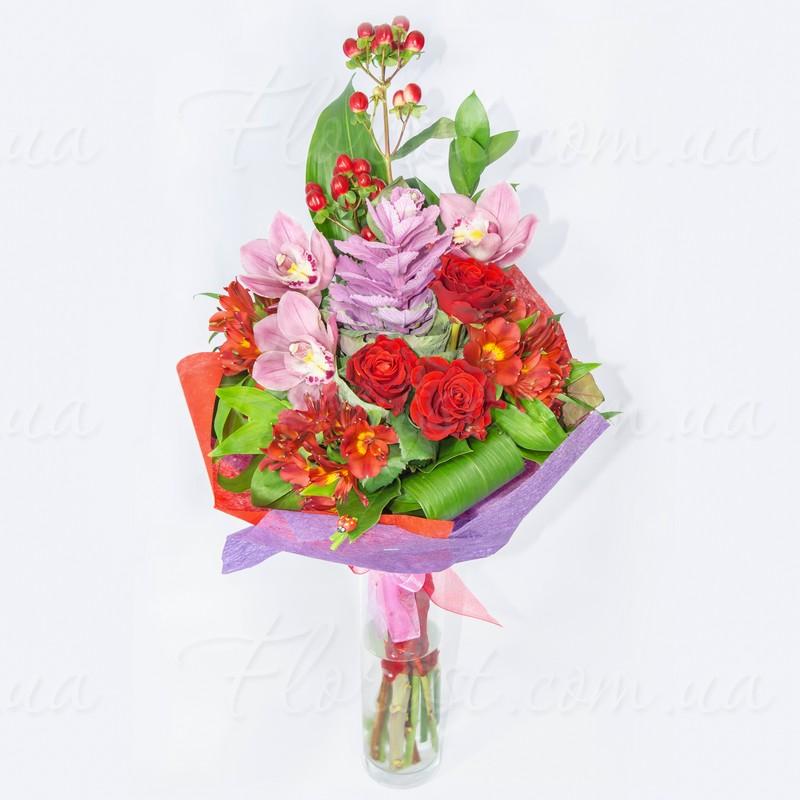 Поздравление к подарку цветы орхидеи #9