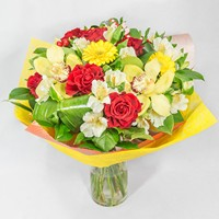 Bouquet For Happy Birthday - view more