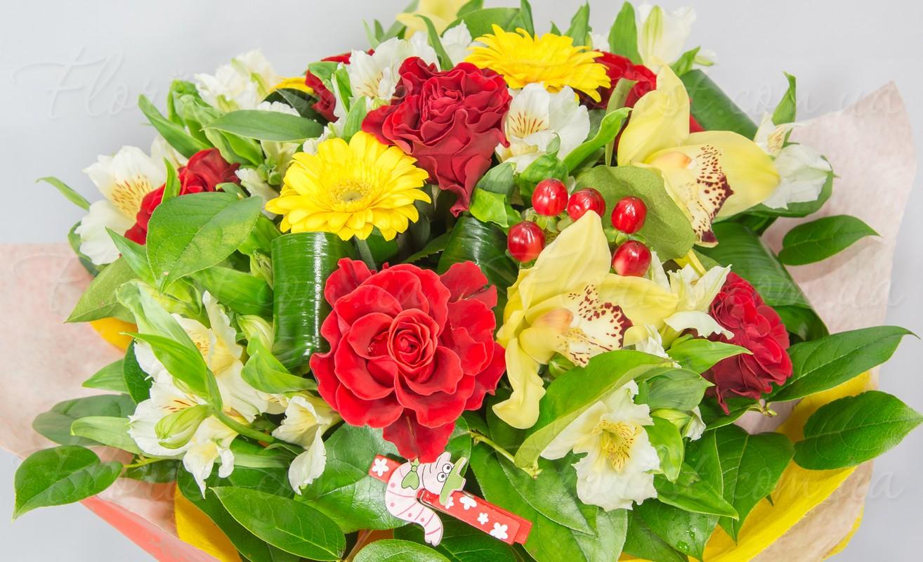 Стильные цветы в подарок 6