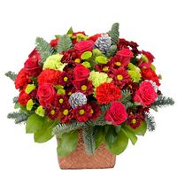 Christmas arrangement Homely Evening - view more