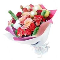 Christmas bouquet Blizzards Melody - view more
