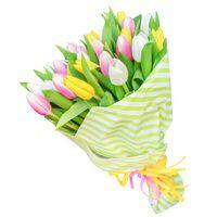 Букет  из тюльпанов Краски Весны - смотреть подробнее