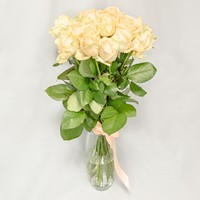 Букет из персиковых роз Романтичный - смотреть подробнее