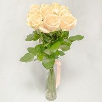 Bouquet of peach roses Unexpected Meeting - view more