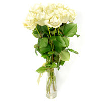 Bouquet of white roses Pleasant Dating