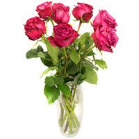 Bouquet of red roses First Date - view more