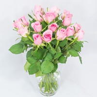 Bouquet of pink roses Pleasant Day - view more