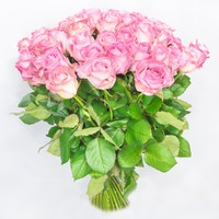 Bouquet of pink roses For Dear Man - view more