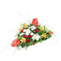 Arrangement in a basket For bussines Woman - view more