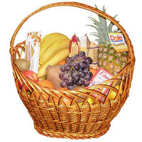 Gournet-fruit basket - view more
