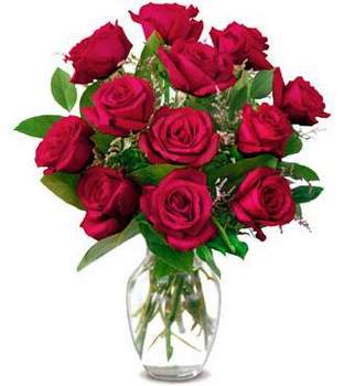 Bouquet of red roses For my Madly loved Girl! - view more
