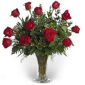 Bouquet of red roses Elite - view more