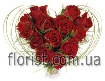Heart of roses Time to Love - view more