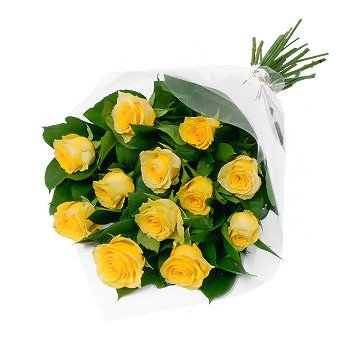 Bouquet of yellow roses Sunny Roses - view more