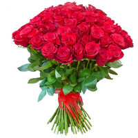 Bouquet of red roses - view more