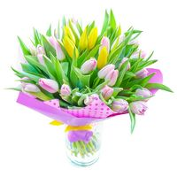 Bouquet of tulips Fantasy of Love - view more