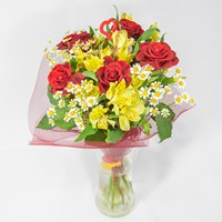 Bouquet For Pretty Young Girl - view more