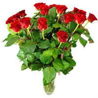 Bouquet of red roses Sincere Feelings