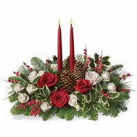 Christmas flower arrangement Fairy Winter - view more