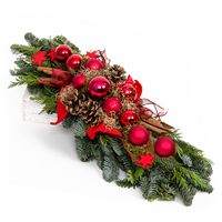 Christmas on-table flower arrangement Melody of Stars - view more