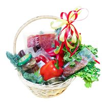 Christmas gournet basket - view more