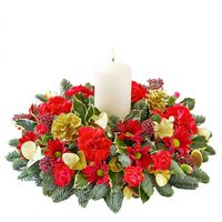 Christmas arrangement Snow Princess - view more