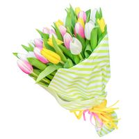 Bouquet of tulips Spring Colors of Spring