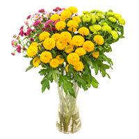 Букет из хризантем Времена Года - смотреть подробнее