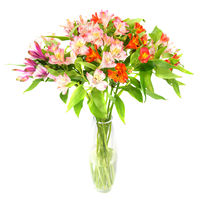 Bouquet of alstromeries Colorful Splash - view more