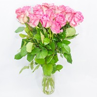 Bouquet of pink roses Pleasant Date