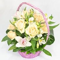 Bouquet Flower Basket - view more