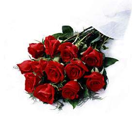 Bouquet of red roses Modest Smile - view more