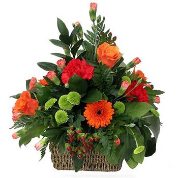 Flowers basket Autumn Aroma - view more