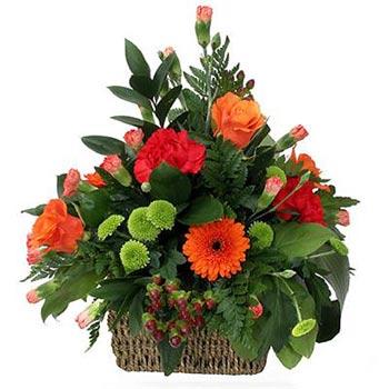 Flowers basket Autumn Aroma