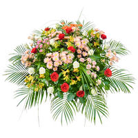 Flowers basket Golden Prime