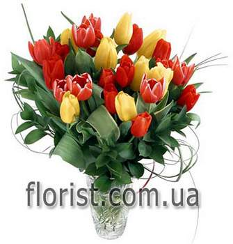 Bouquet of tulips Morning - view more