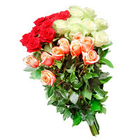 Bouquet of roses Bright Fiesta