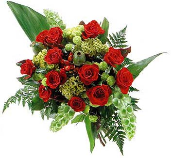 Bouquet in red colours Passion