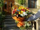 Фото букета цветов перед доставкой