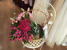 Фото 1. Доставка цветочно-фруктовой корзины - Вена, Австрия. florist.com.ua