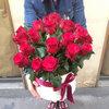 Фото 2. Доставка цветочной композиции из роз в коробке - Франция, Париж. florist.com.ua