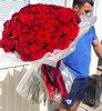 Фото 2. Доставка цветочной композиции в коробке в Торецк, Украина. florist.com.ua