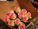 Фото 1. Доставка букета из  розовых роз - Париж, Франция. florist.com.ua