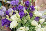 Фото 1. Букет из эустом доставленный службой florist.com.ua в Сен-Тропе, Франция