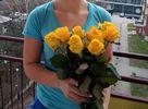 Фото 1. Доставка букета из роз в Щецин, Польша. florist.com.ua